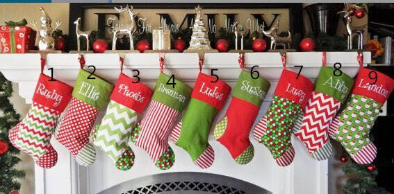 2017-newest-style-Christmas-stocking-canvas-Christmas-gift-bag-stocking-5-styles-stock-Christmas-tree-decoration
